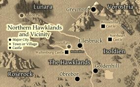 Northern Hawklands - Version 1 - small